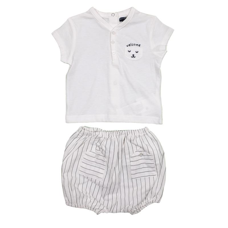ست تیشرت شلوارک نوزادی کیابی | KIABI