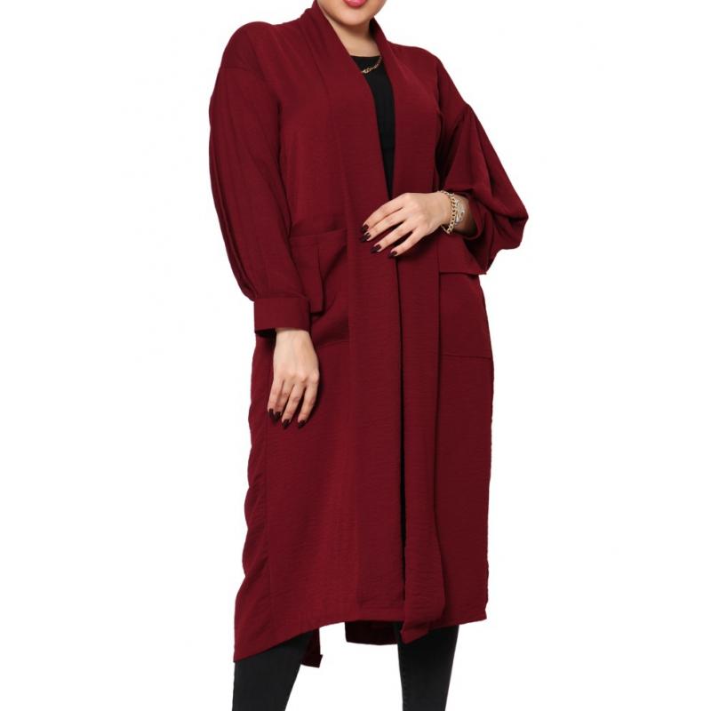 مانتو جلوباز بلند زنانه مریم | MARYAM