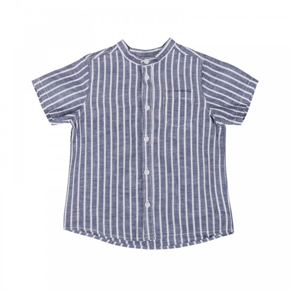 پیراهن آستین کوتاه راه راه پسرانه | TAO