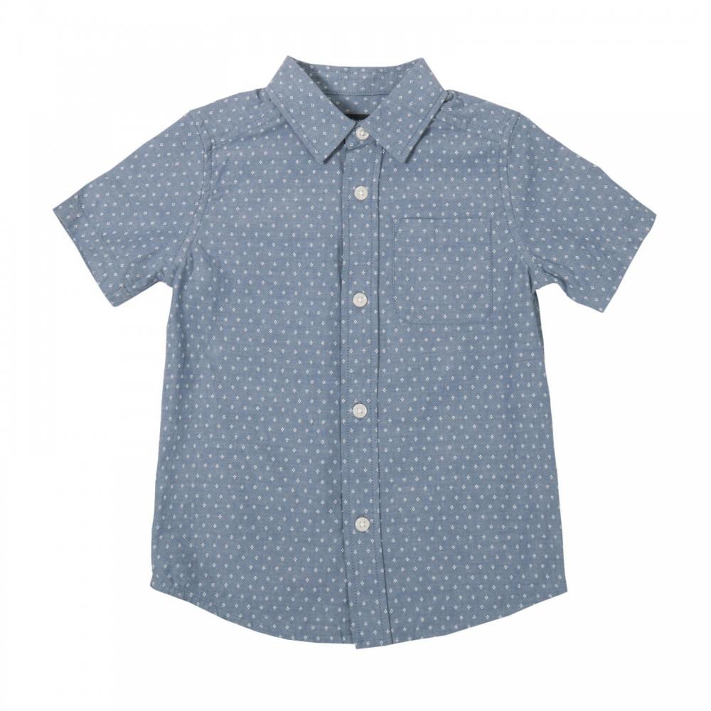 پیراهن آستین کوتاه خالدار پسرانه | PLACE