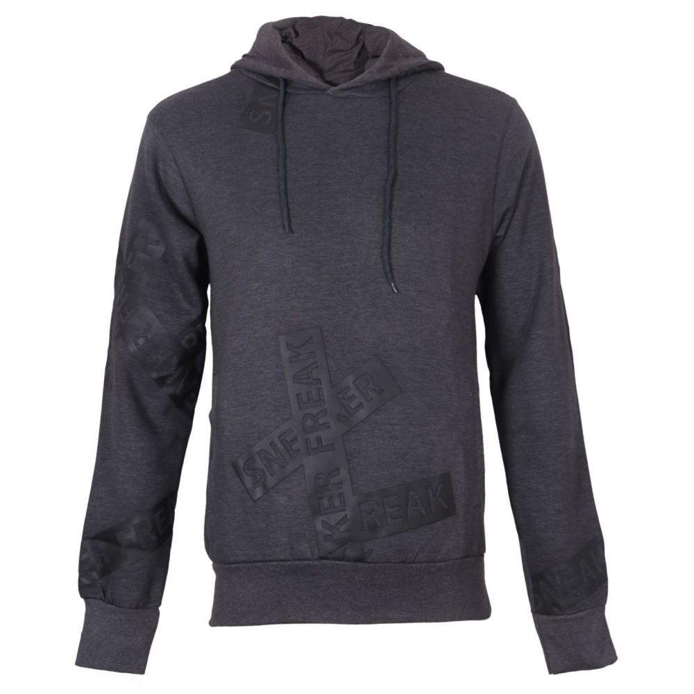 سویشرت کلاهدار جیب دار جلوبسته مردانه اسنیکر فریک | SNEAKER FREAK