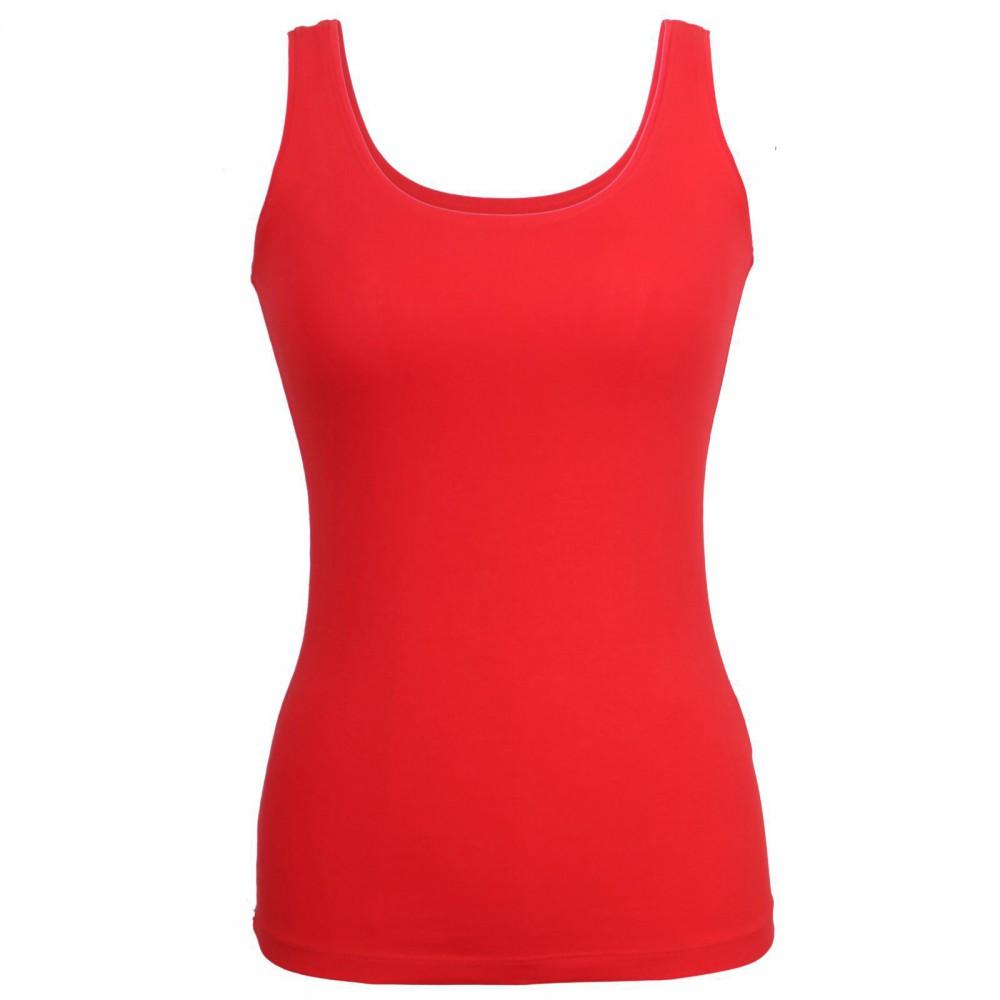 تاپ ساده زنانه رنگ قرمز | MILLER & MONROE