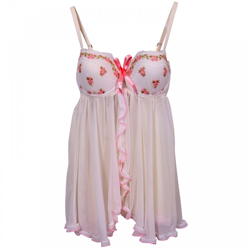 لباس خوابه توری سفید ان بی بی | NBB کد 3221